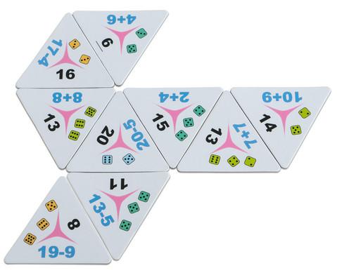 Tri-Domino Rechnen bis 20