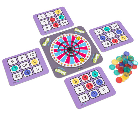 Einmaleins-Bingo - Division