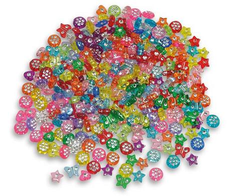 Kunststoffperlen Diamanten-Mix ca 750 Stueck