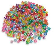 Kunststoffperlen Diamanten-Mix ca. 750 Stück