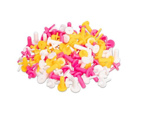Kreiselachsen aus Kunststoff 60 Stueck