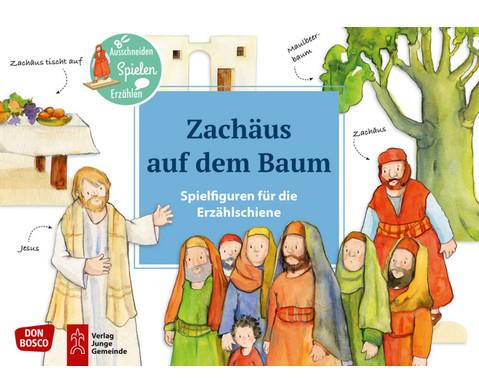 Zachaeus auf dem Baum Spielfiguren fuer die Erzaehlschiene