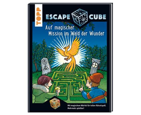 Escape Cube Auf magischer Mission im Wald der Wunder