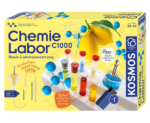 KOSMOS Chemiekasten C1000