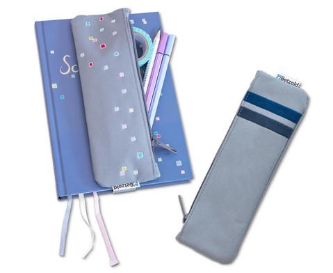 Betzold Etui-to-go Stiftemaeppchen mit Gummiband