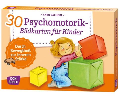 Psychomotorik - 30 Bildkarten fuer Kinder