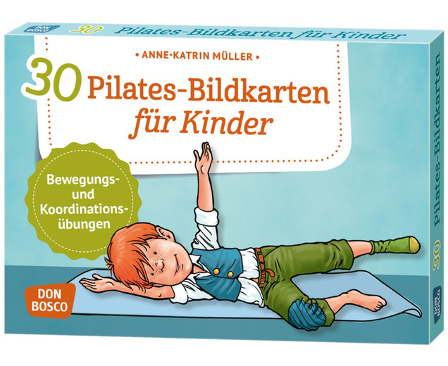 Don Bosco Pilates - 30 Bildkarten für Kinder