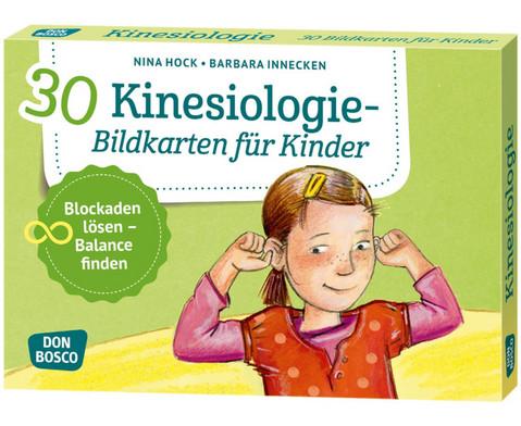 Kinesiologie - 30 Bildkarten fuer Kinder