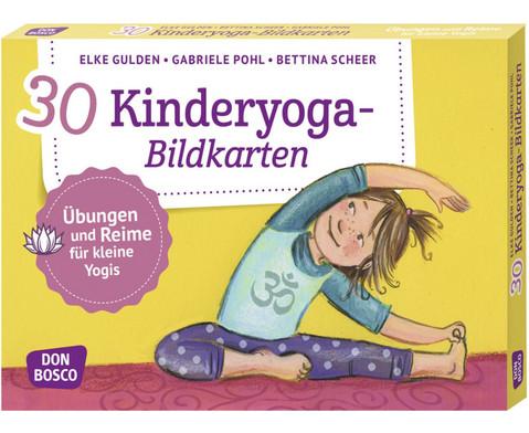 Kinderyoga - 30 Bildkarten fuer Kinder