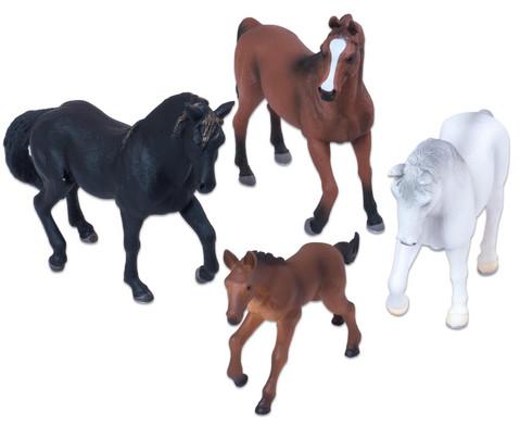 Pferde Set 4-teilig