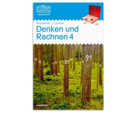 LUEK-Heft Denken und Rechnen 4 Klasse