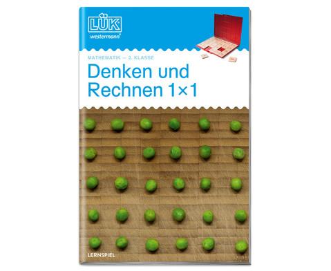 LUEK-Heft Denken und Rechnen 1x1 fuer die 2 Klasse