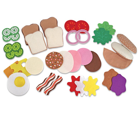 Filz Sandwich Set 33-teilig