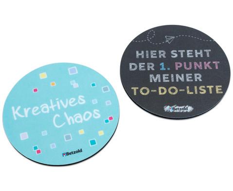 Betzold Design-Untersetzer mit Spruch 2 Stueck im Set