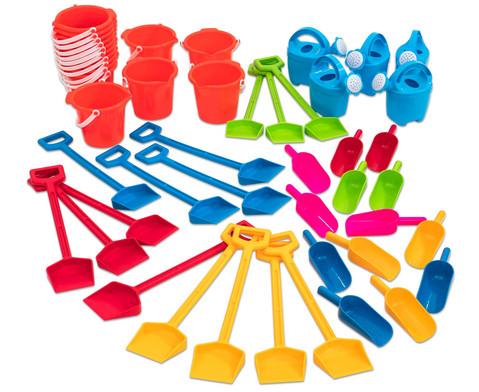 Betzold 50 Jahre Set Sandspielzeug 50 Teile