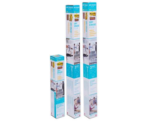 Post-it Super Sticky Dry Erase Folie in 3 Groessen