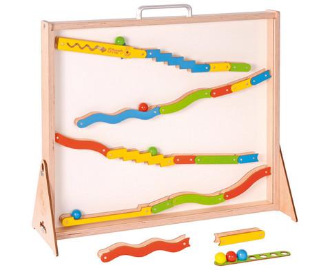 Maglab Magnetspiel-Kugelbahn im Koffer