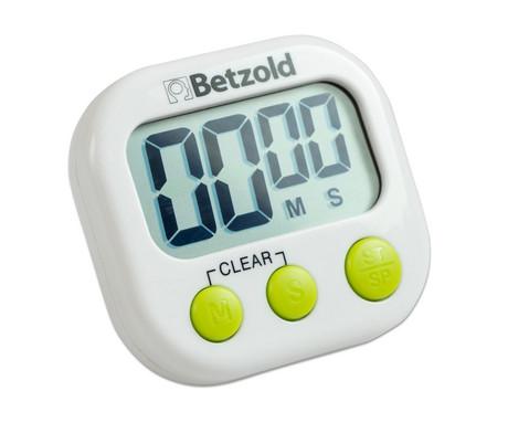 Zeitdauer-Uhr Timello mit Standfuss und Magnet