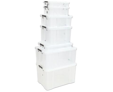 Aufbewahrungsbox mit Deckel 55-85 l AllStore stapelbar