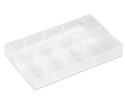 AllStore Kleiner transparenter Einsatz fuer 55L Aufbewahrungsboxen