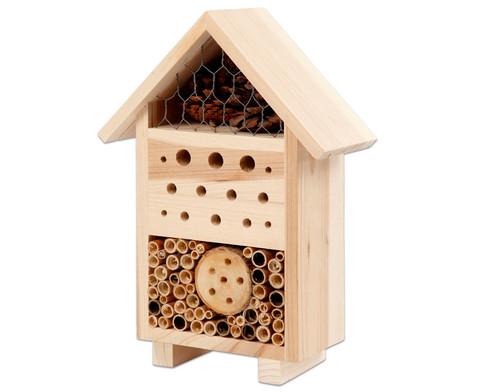 Insektenhotel aus Kiefernholz