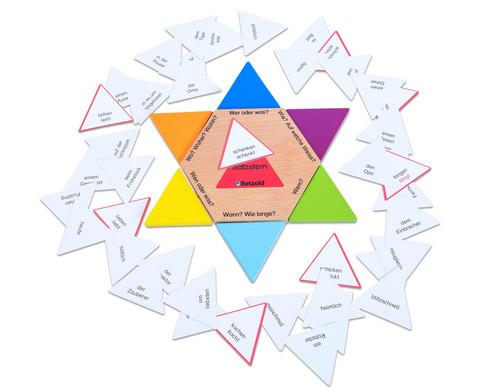 Satzstern mit Karten