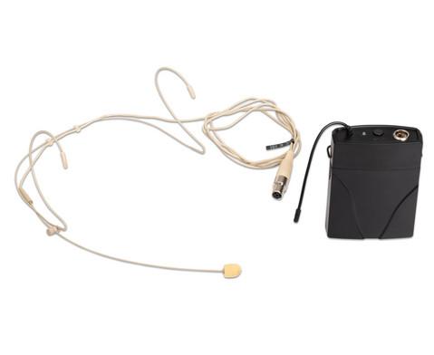 TLS Professionelles Headset-Mikrofon inkl Taschensender
