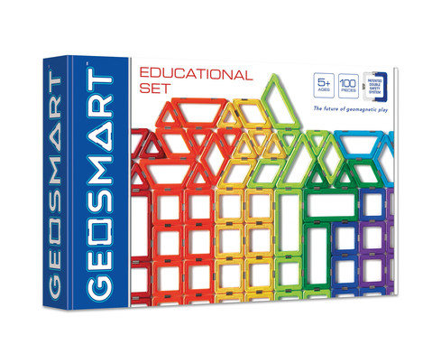 Geosmart Educational Set 100 Teile mit Achsen und Raedern