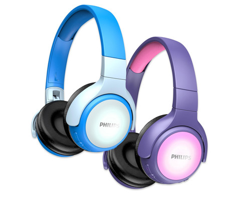 PHILIPS Bluetooth Kinderkopfhoerer TAKH402