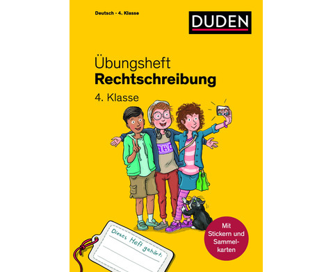 DUDEN UEbungsheft - Rechtschreibung 4 Klasse