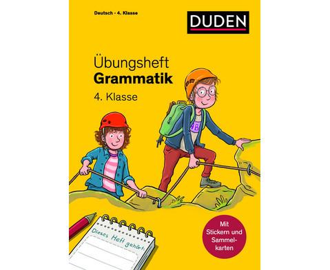 UEbungsheft - Grammatik 4 Klasse
