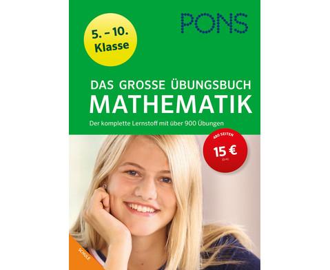 PONS Das grosse UEbungsbuch Mathematik 5-10 Klasse