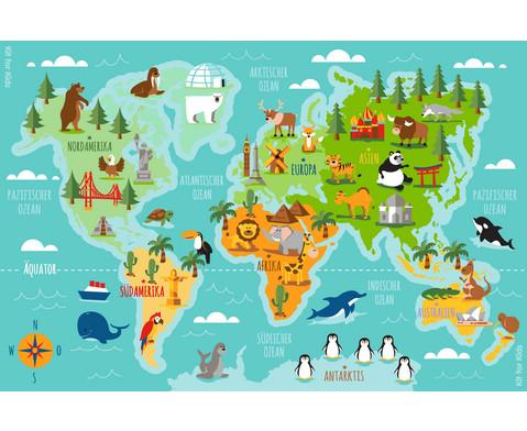 Teppich Tiere unserer Erde