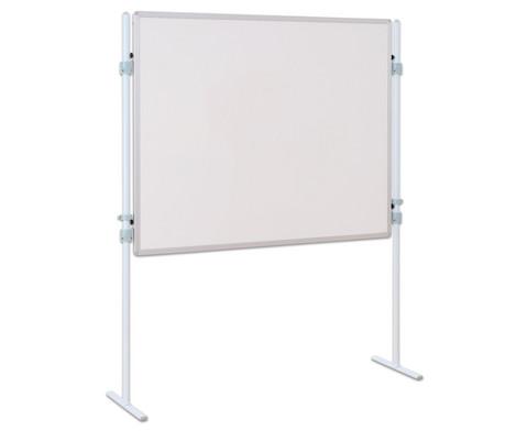 Trennwand-Tafel Whiteboard mit 2 Stativen