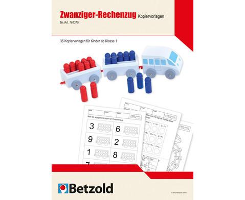 Betzold Zwanziger-Rechenzug Kopiervorlagen