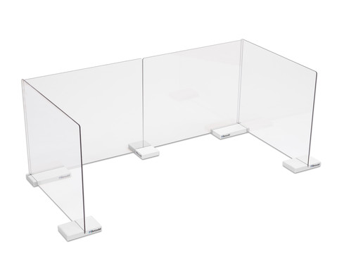 Mobiler Spuckschutz Schreibtisch