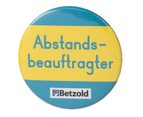 Betzold Ansteck-Button Abstandsbeauftragter 10 Stueck
