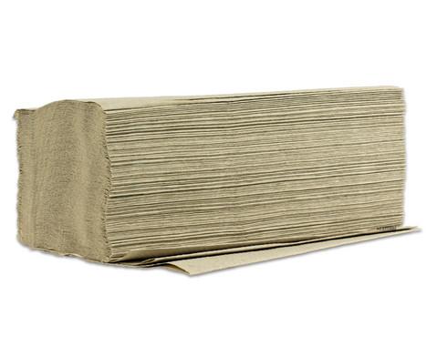 Falthandtuch 1-lagig V-Falz grau 5000 Stueck im Karton