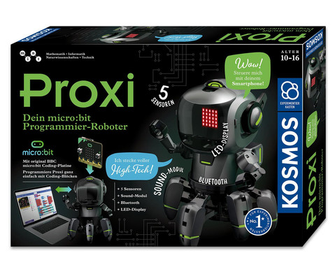 Proxi microbit Programmier-Roboter