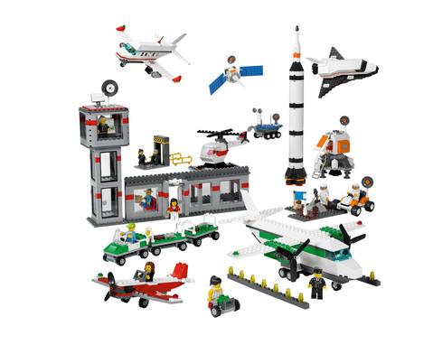 LEGO Education Weltraum und Flughafen-Set