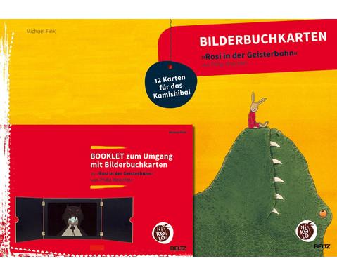 Bilderbuchkarten Rosi in der Geisterbahn