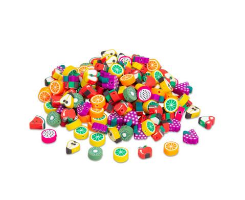 Perlen-Set Fruechte 200 Stueck