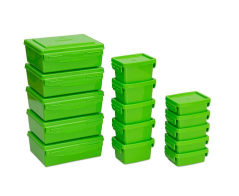 Aufbewahrungsbox-Set - 15 Stueck Materialboxen