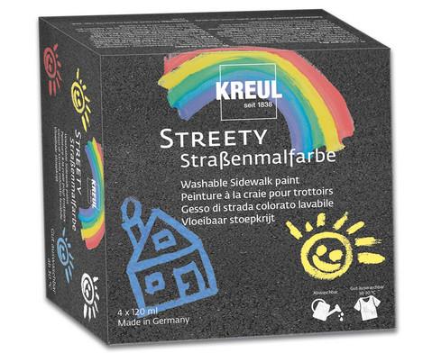 KREUL Streety Strassenmalfarbe Starterset