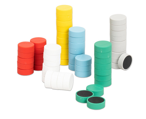 Kraftmagnete 60er-Set aus 6 Farben