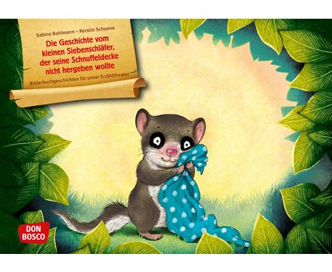 Die Geschichte vom kleinen Siebenschlaefer Kamishibai Bildkartenset