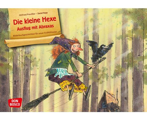 Die kleine Hexe Ausflug mit Abraxas Kamishibai-Bildkartenset