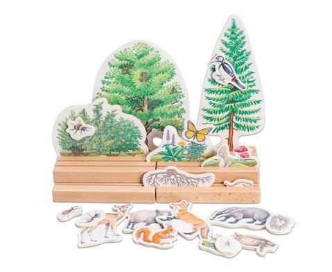 Betzold Stockwerke des Waldes