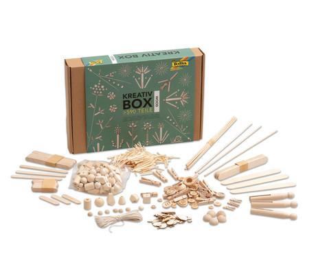 Kreativ Box Holz