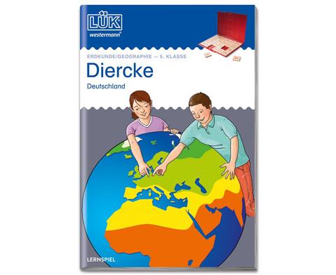 LUEK Diercke Erdkunde 5 Klasse Deutschland